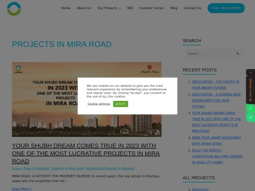 Projects In Mira road click to know more