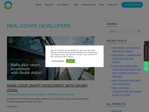 Real Estate Developers click to know more