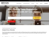 Domain Registration Made Easy With Oryon