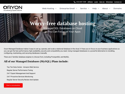 Worry-Free Managed Database Hosting. Improve Your Apps Reliability Now!