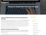 Handwritten Data Entry Services
