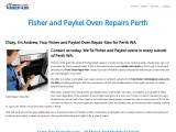 Fisher & Paykel Oven Repair Near Me