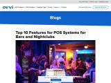 Top 10 Features for POS Systems for Bars and Nightclubs