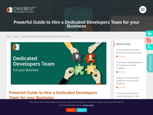 Powerful Guide to Hire a Dedicated Developers Team for your Business