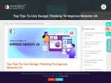 Top Tips To Use Design Thinking To Improve Website UX