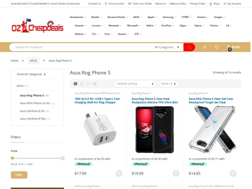 Asus Rog Phone 5 Case Cover Screen Protector Sale | Oz Cheap Deals