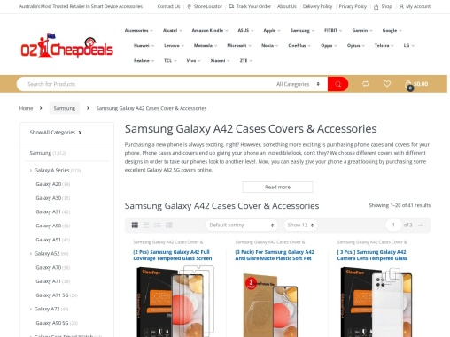 Samsung Galaxy A42 Cases Covers & Accessories – Oz Cheap Deals