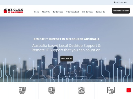 Remote IT Support in Melbourne | Remote IT Desktop Support | OZ CLICK IT Solutions