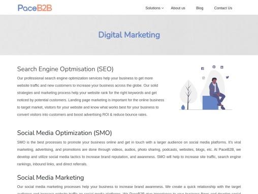 Digital Marketing Service – PaceB2B