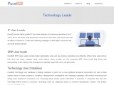 Technology User Database USA