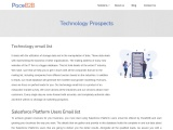 Technology Prospects – PaceB2B