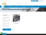 Pouch Packing Machine Manufacturer in India   Arjun Packaging Machine