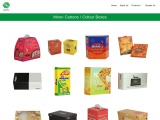 Order Colored Mono Cartons Boxes | Packers Products