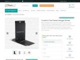 Custom Printed Five Panel Hanger Boxes Wholesale