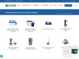 Automotive Material and Parts Testing Instruments