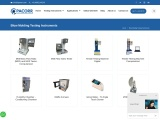 Blow Molding Testing Instruments