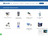 Glass Products Testing Instruments