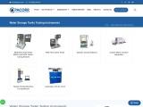 Water Storage Tanks Testing Instruments