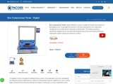 Box Compression Tester Manufacture