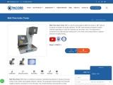 Melt Flow Index Tester Manufacturer
