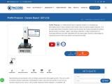 Camera Based Profile Projector