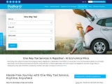 Hire One-Way Taxi Services | Best Outstation One-Way Taxi