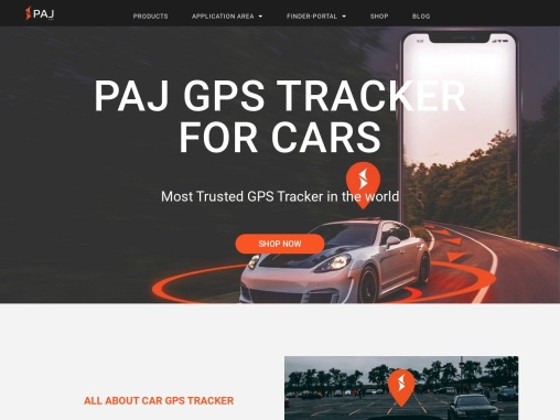 GPS Tracker for Cars – Car Tracking Device – Car Tracker – PAJ GPS