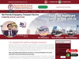 Panchmukhi Emergency Charter Air Ambulance in Delhi is Available
