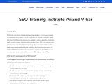 SEO Course Anand Vihar by  pankajkumarseo