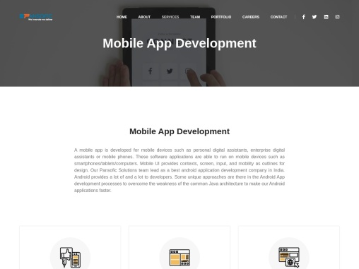 Best Mobile App Development Company in Ambala, Haryana