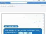 Andhra jyothi Newspaper Tirupathi Edition Read Online
