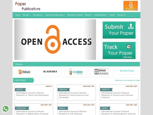 Paper publications writing services in India