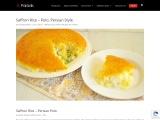 Persian Style Saffron Rice Recipe