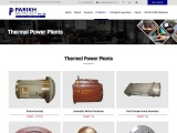 Steel Castings for Thermal Power Plant