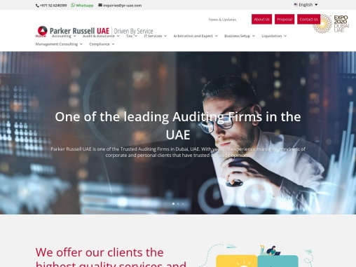 Audit Firms in Dubai | Parker Russell UAE