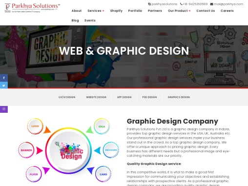 Graphic Design Company Web Design Company In Indore