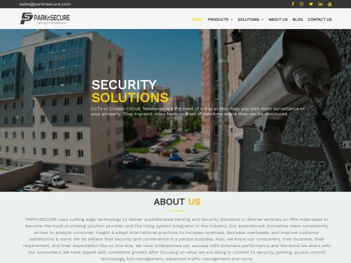 Parking & Security Solutions   ParknSecure India Pvt Ltd