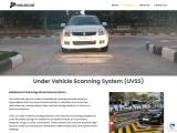 Under Vehicle Surveillance System | UVSS | PARKnSECURE
