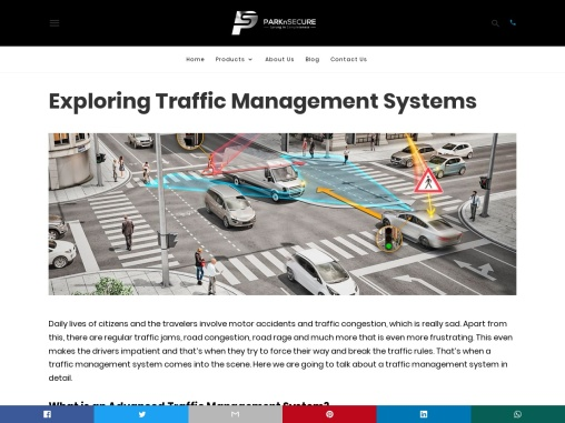 Exploring Traffic Management Systems