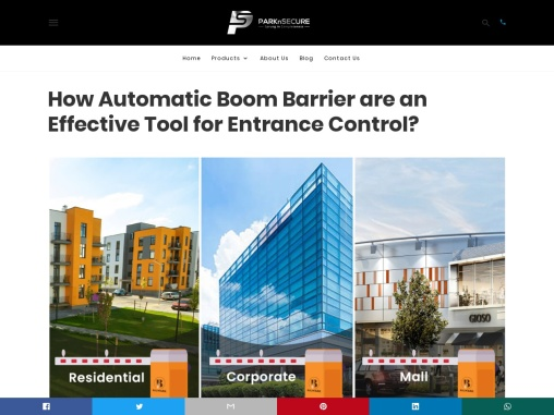 How Automatic Boom Barrier are an Effective Tool for Entrance Control?