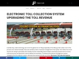 ELECTRONIC TOLL COLLECTION SYSTEM UPGRADING THE TOLL REVENUE\