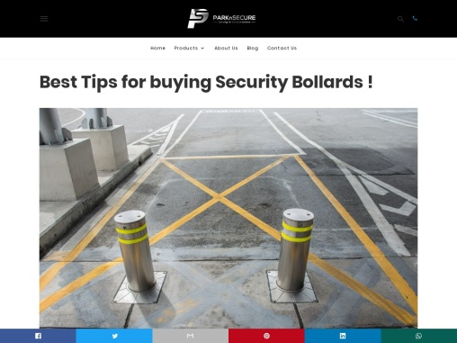 Best Tips for buying Security Bollards !