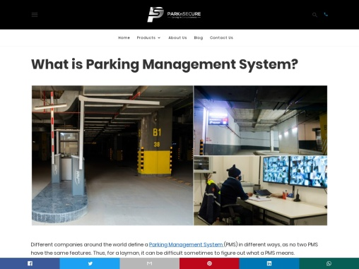 What is Parking Management System?