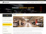 Customized Parking Guidance System & Solution | PARKnSECURE