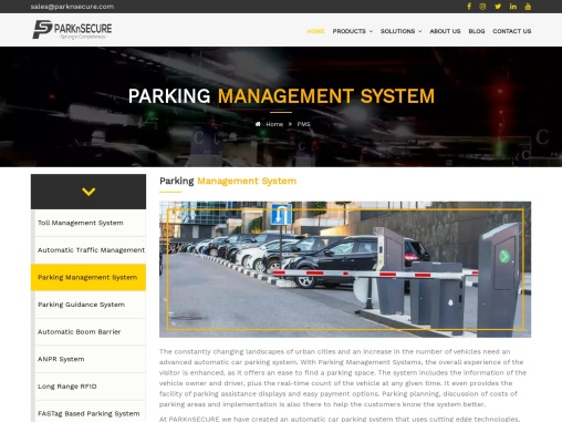 Parking Management System  Automated Parking Solutions INDIA