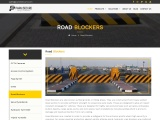 Automatic Road Blockers | Security Bollards | PARKnSECURE