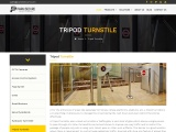 Tripod Turnstiles | Access Control System | PARKnSECURE