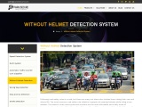 Without Helmet Detection System | ParknSecure
