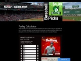 Parlay Calculator For Sports Wagers