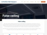 Designer False Ceiling for Condo & HDB Bedroom, Living Room, Kitchen & Bathroom
